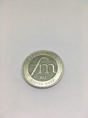 2012 First Majestic Collectible Aztec Pyramids 1 oz .999 Fine Silver