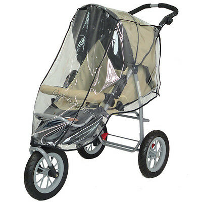 Universal Clear Raincover For Hauck Shopper Buggy Pushchair Pram Doll Rain Cover