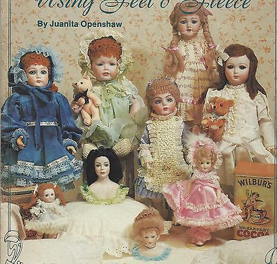 Antique Bebe/bru Child-French Fashion Lady Doll Wig How To Book Fleece/mock Wool
