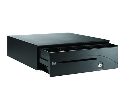 HP FK182AA - Cash Drawer - carbonite - for Point of Sale System ap5000 NEW