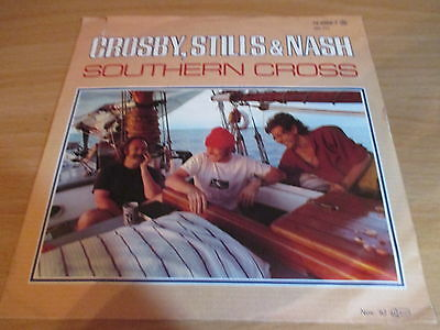 80er Jahre - Crosby , Stills & Nash - Southern Cross