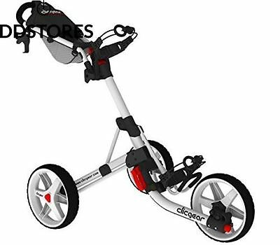 Clicgear 3.5 Golf Trolley Blanc