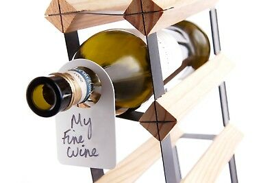 Wine Bottle Cellar storage Neck Tags Card - Pack of 100. Bar Originale