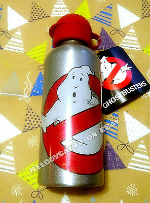 NEW! Cotton On Kids Boy's Aluminum Drink Bottle 650ml  - Ghostbusters