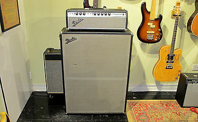 1968 FENDER BANDMASTER WITH 2x12 CAB - ANDY BAXTER BASS & GUITARS