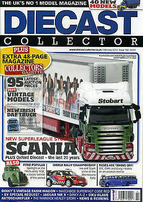 Diecast Collector Magazine Feb 2013
