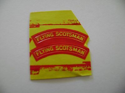 Triang/Hornby Flying Scotsman Names (Red)