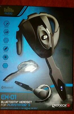 auricolare bluetooth EX-01 GIOTECK per PS3