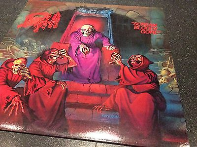 """ultra Rare"" Death-Scream Bloody Gore 1987 Lp/vinyl/record"