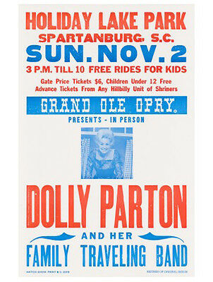 Dolly Parton Poster Hatch Show Print