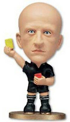 COLLINA Serie A Referee - MicroDome Redemption Figure GOLD Base
