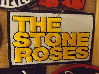 The Stone Roses Iron On Patch-Manchester-Indie-Ian Brown