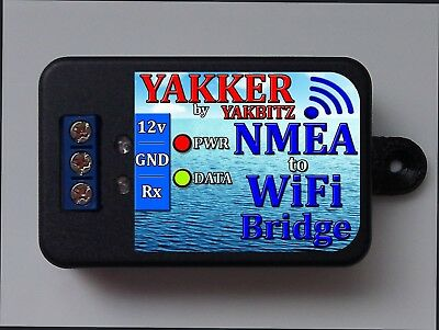 NMEA 0183 to WiFi BRIDGE