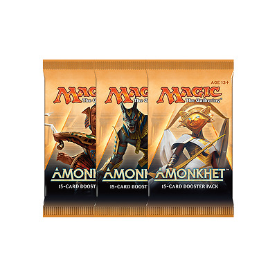 Amonkhet 3 x NEW and SEALED MtG Boosters