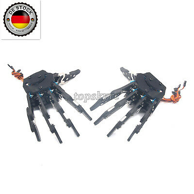 Acrylic 5.0 Mechanical Claw Clamper Gripper Arm Right and Left Hand + Servos EU
