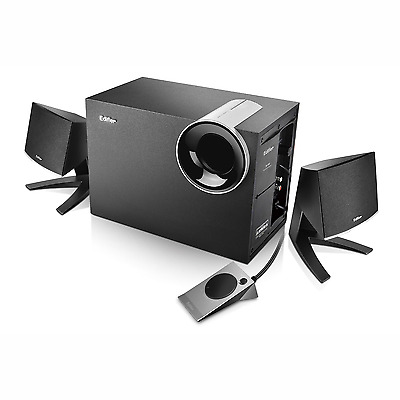 Edifier 2.1 Multimedia PC Computer Audio Speaker System With Subwoofer (M1380)