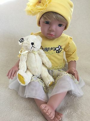 Paradise Galleries Retired Reborn Toddler Doll {New Condition}