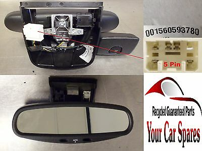 Alfa Romeo 159 4Dr -Automatic Dimming Rear View Mirror In Black - 001560593780