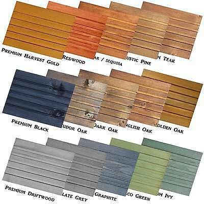 Premium Decking Stain - Makes 5L - Woodstain For Fence, Shed, Outdoor Furniture