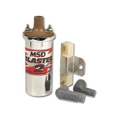 MSD Ignition Blaster 2 with Chrome Housing and balast resistor PN: 8200