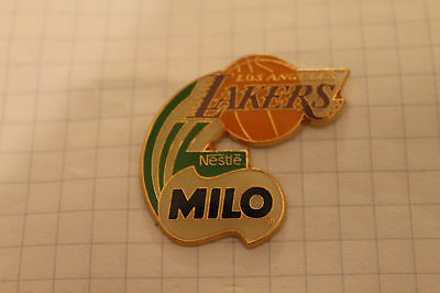 Pin's Pins Nestle Milo Basket Basketball Nba Los Angeles Lakers