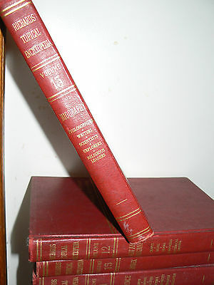 1962  Complete Set Richards Topical Encyclopedia ENCYCLOPEDIAS