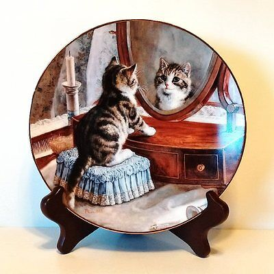 "W S George Victorian Capers ""who's The Fairest Of Them All"" Collector Plate"