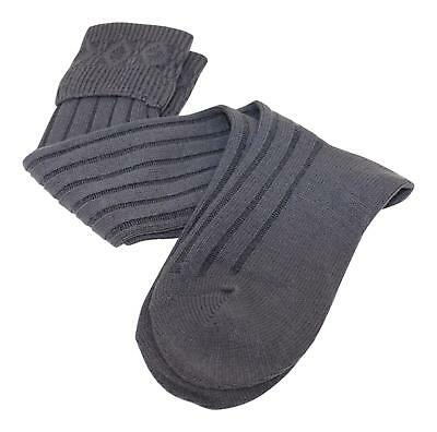 Thistles Shoes Calve Length Budget Kilt Hose Socks in Charcoal Grey