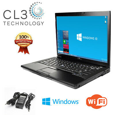 DELL Laptop Computer Latitude Windows 7 Pro Core 2 Duo DVD WiFi Notebook + HD