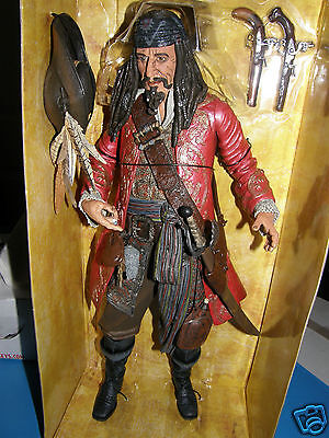 "Disney  Pirates of the Cabibbean   Capt Teague  18"" inch  Motion&Sound"