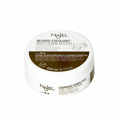 Najel - Burro esfoliante 200 ml