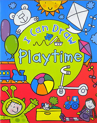 I Can Draw Playtime   Pre-school   Early Learning   Children's Drawing Book  New