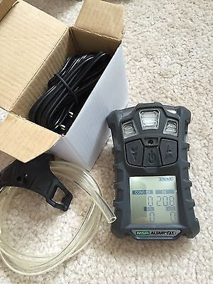 MSA altair 4X multi gas detector Monitor Meter NEW Oxygen  Warranty/Calibrated