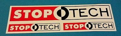 STOP TECH racing decals stickers nhra nhrda drags diesel offroad imsa tudor