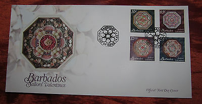 Barbados Official First Day Cover - 2011 - Sailors' Valentines