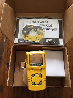 BW Technologies GasAlert MicroClip XL Multi-gas Detector Monitor Calibrated