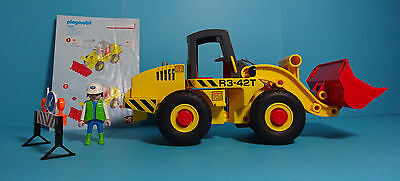 Playmobil Construction/Baustelle~Radlader/Front Loader (3934) & Anleitung/Manual