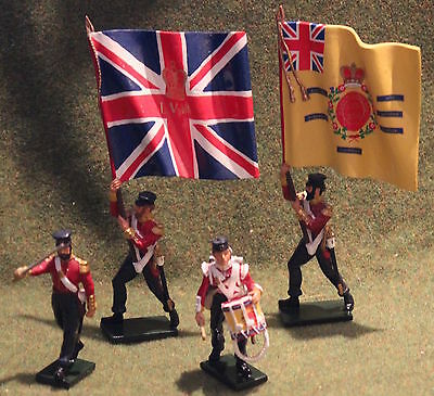 Britains 43076 british 57th regiment crimean war toy soldiers 54mm king country