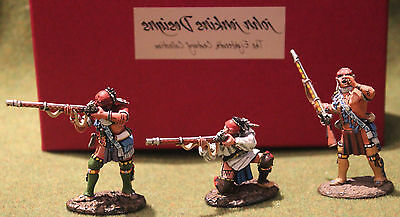 John Jenkins  Wim02 Woodland Indians / King Country Britains Toy Soldiers