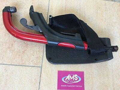 Invacare Action 3ng / 4ng Wheelchair Left Footrest Including Foot Plate - Red