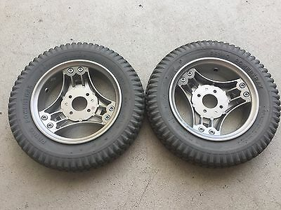 "14"" 3.00-8 Drive tires, Wheels for Permobil Power wheelchair Air free, solid"