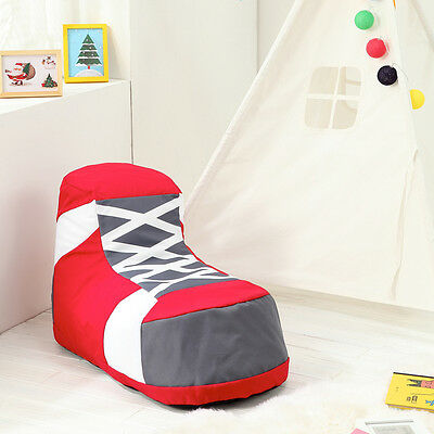 Shoe Children Bean Bag Kids Bean Bag Chair with Filling-UK Seller