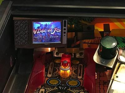 Indiana Jones Pinball mod - TV with VIDEO playback! NEW IMPROVED 2017!
