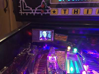 The Addams Family Pinball mod - TV with VIDEO playback! NEW IMPROVED 2017 model!