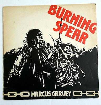 Burning Spear Marcus Garvey 1975 uk island label vinyl lp excellent reggae