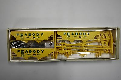 Walthers Peabody Hopper Car 3 Pack HO