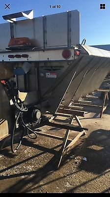 Commercial Swenson Sand And Salt Spreader Stainless Steel 14 Ft.