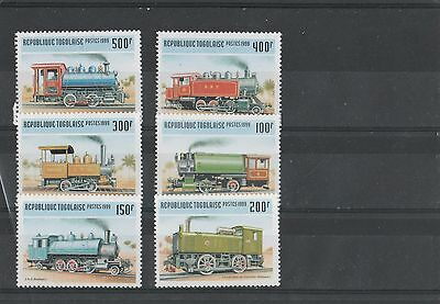 Trains - Togo-  Complet Set - New - Perfect - 1999