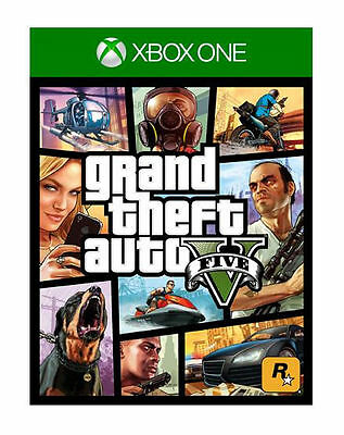 Grand Theft Auto GTA V 5 (Xbox One) Brand New Sealed Game UK PAL