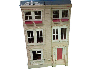 A87 Fisher Price Limited Edition Loving Family Plastic Townhouse Retired VTG